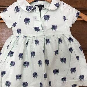 Gap Sheep Print Girl's Dress